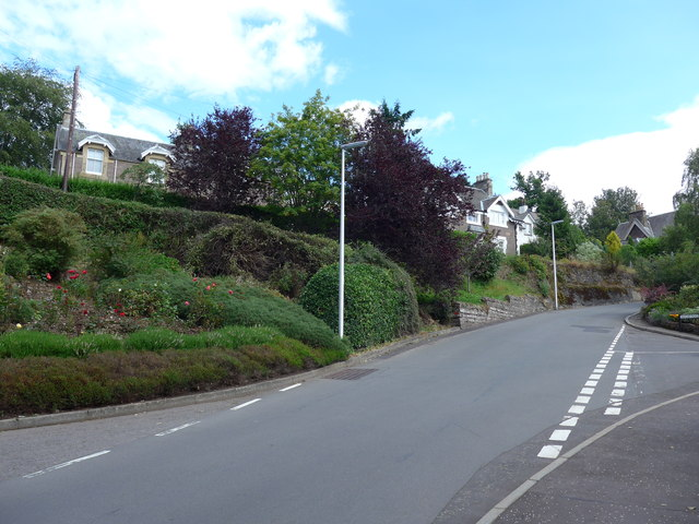 Junction of MIlnab Street and Sauchie Road