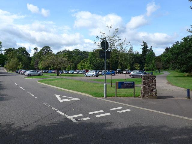 Road to MacRosty Park