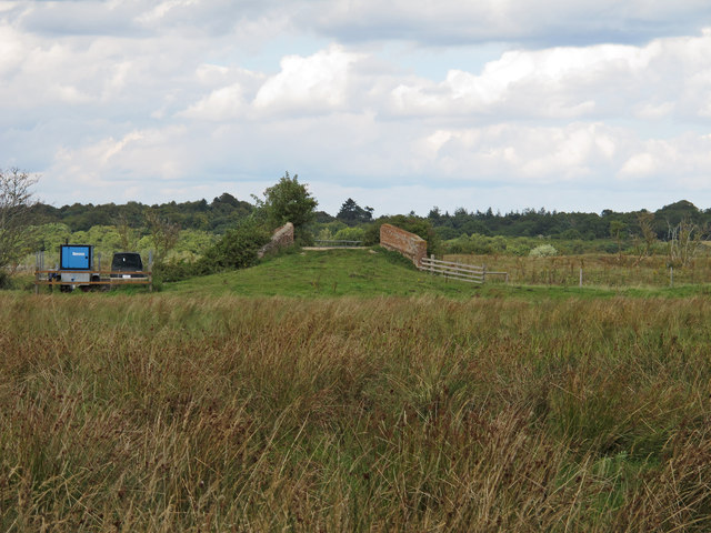 Farm bridge over Minsmere New Cut, Eastbridge