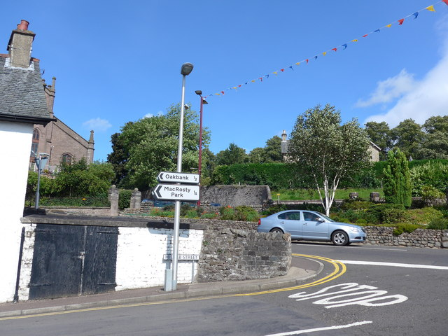 Junction of Milnab Street and Comrie Street