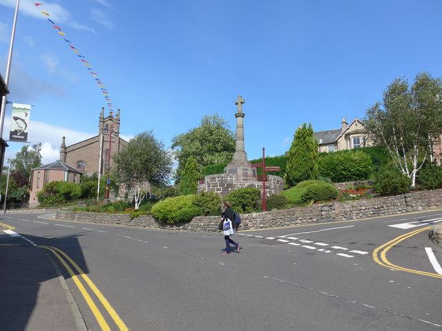Pedestrian crossing Comrie Street