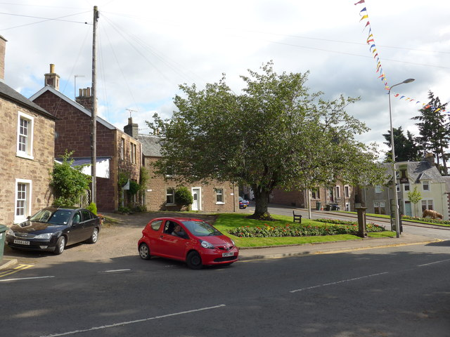 Parked cars in Burrell Street