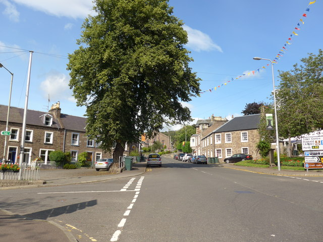 Junction of Burrell Street and Drummawhandie Road