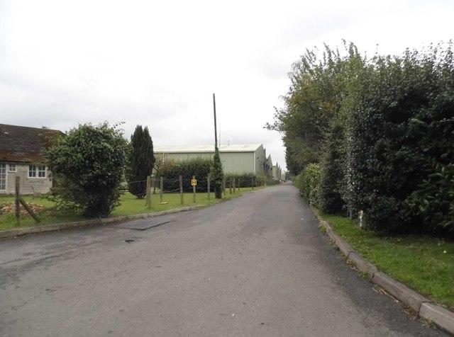 Hangar Road at Denham Aerodrome