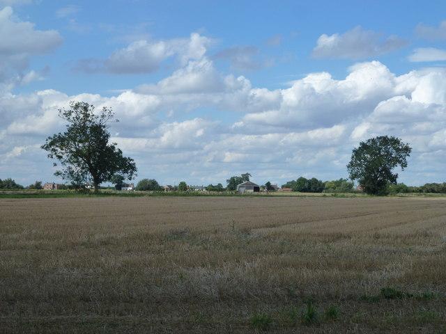 Farmland near Cawood Hall, Gosbeton