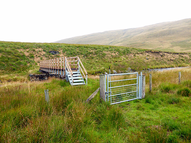 New footbridge over Afon Rheidol - 3