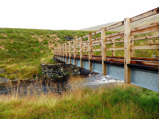 New footbridge over Afon Rheidol - 5