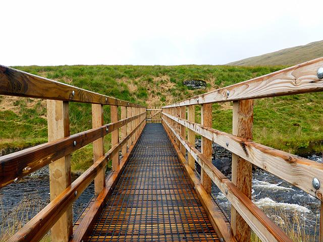 New footbridge over Afon Rheidol - 7