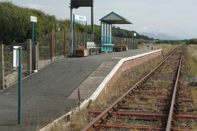 Abererch Station