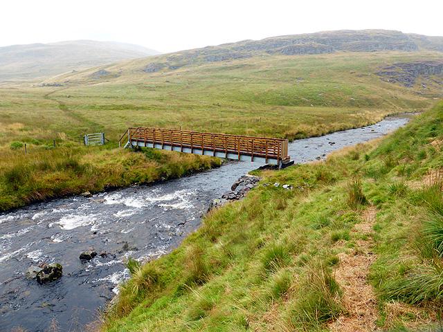New footbridge over Afon Rheidol - 10