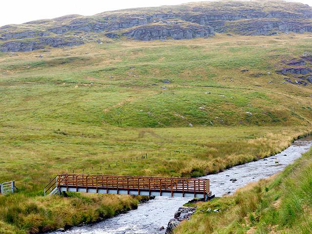 New footbridge over Afon Rheidol - 11