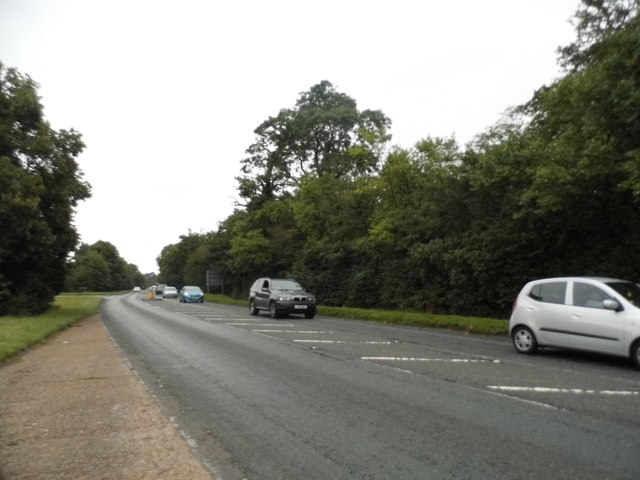 The A412 North Orbital Road, Denham