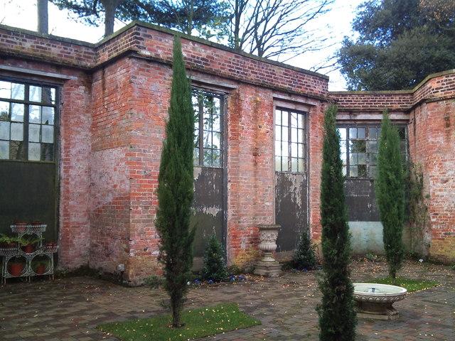 Italian Garden, Rode Hall