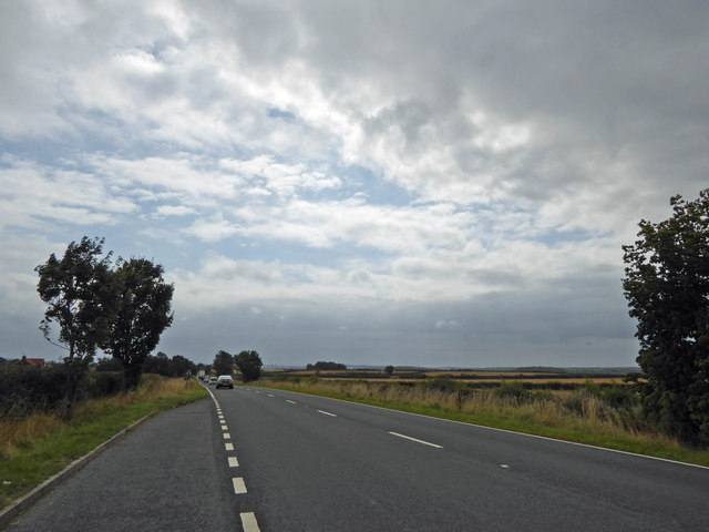 Lay-by on A616 near Kersall