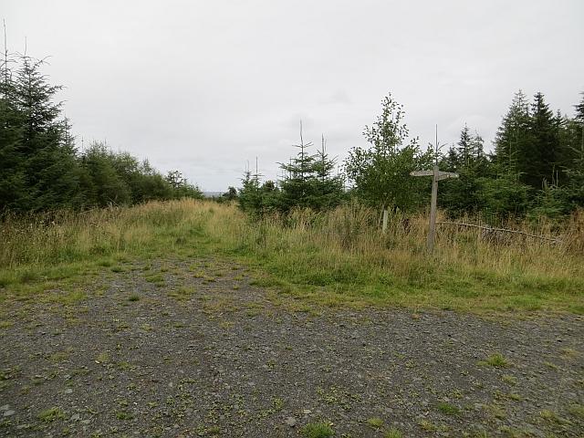 Signpost, Jeanie's Wood