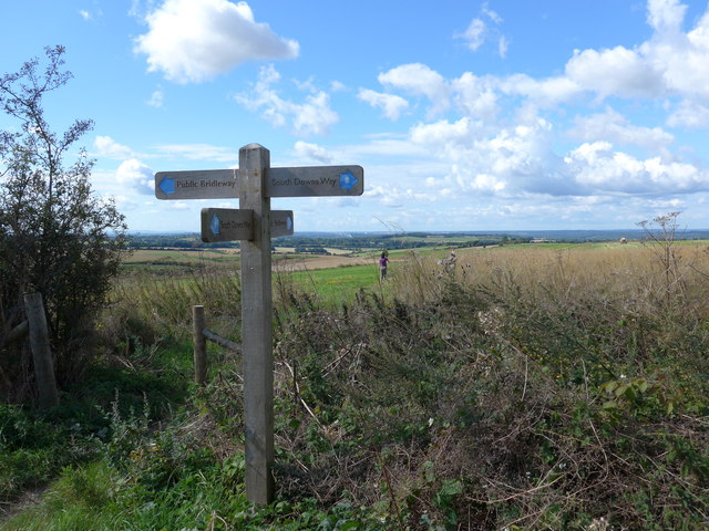 South Downs Way, Winchester to Exton (48)