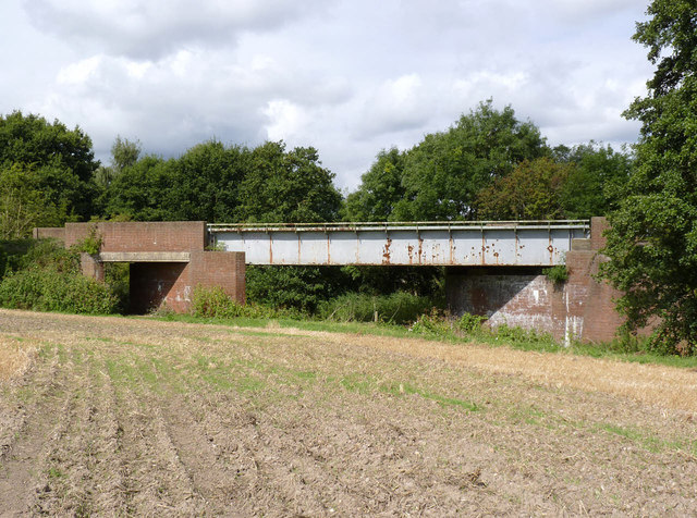 Abandoned railway bridge