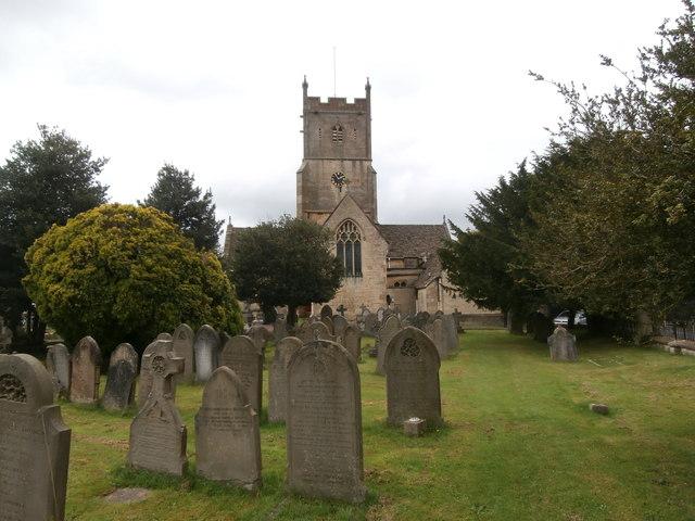 Graveyard & St Mary's Church, Charlton Kings