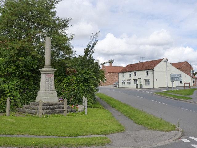 East Markham war memorial