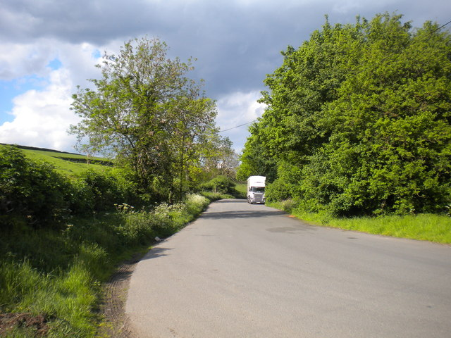 Layby on the A612 south west of Lowdham