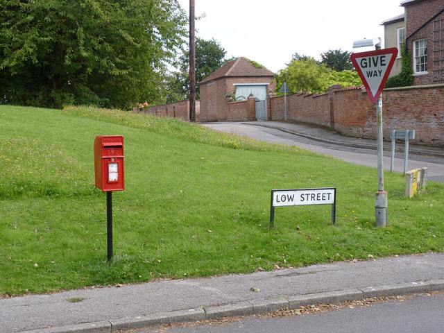 Church Street, East Markham postbox ref NG22 151