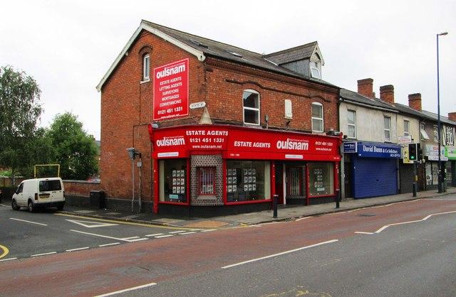 Robert Oulsnam & Company, 1394-1396 Pershore Road, Stirchley, Birmingham