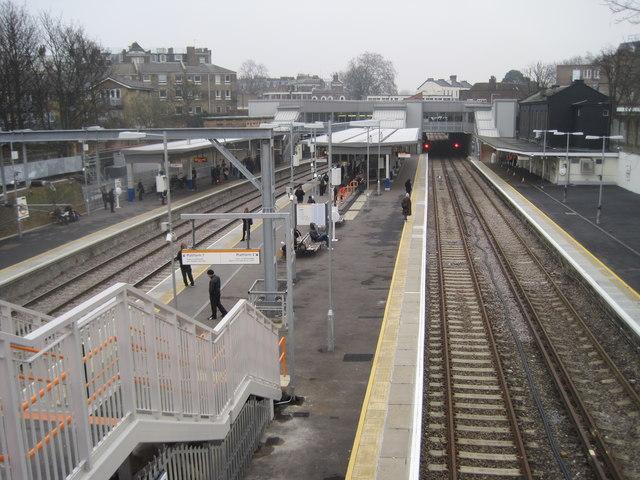 Highbury & Islington railway station, Greater London