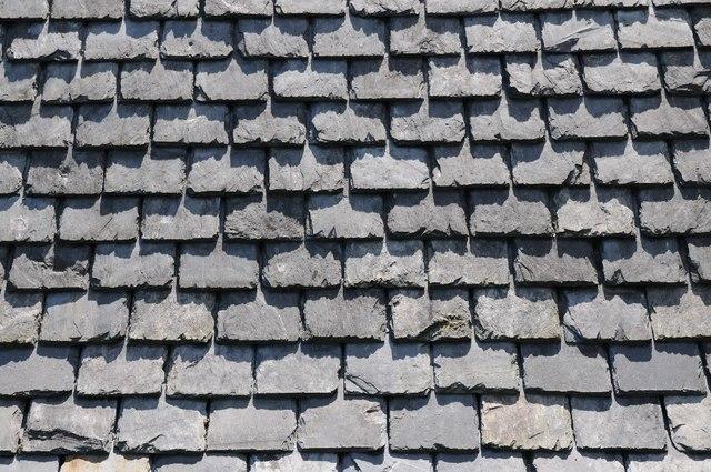 Slate roof, Plas yn Rhiw