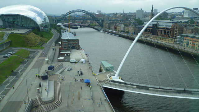 The Tyne viewed from the Baltic Centre
