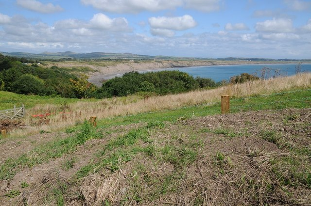 View over Porth Neigwl or Hell's Mouth