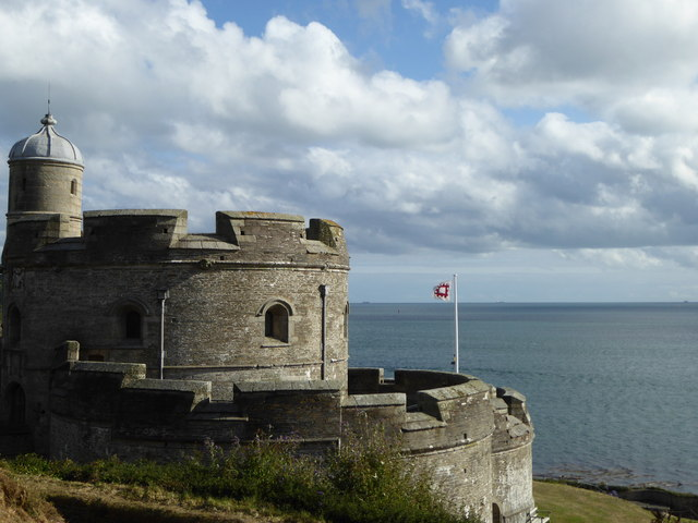 The keep of St Mawes Castle