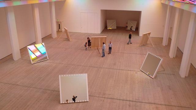 Scene inside the Baltic Centre for Contemporary Art