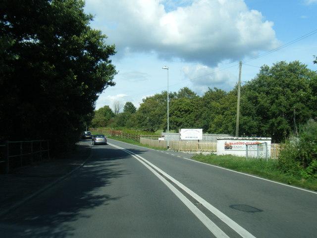 B4295 at Maes-Y-Gwaelod Garden Centre