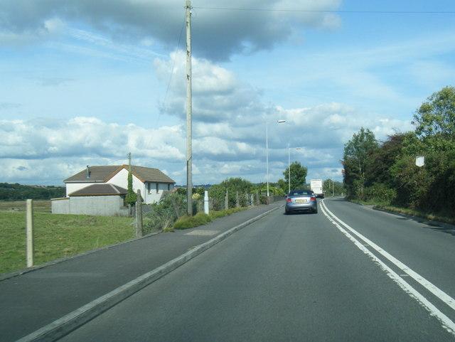 B4295 at Berth-Lwyd-Uchaf