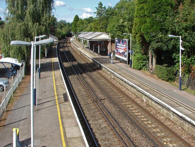 Bookham station