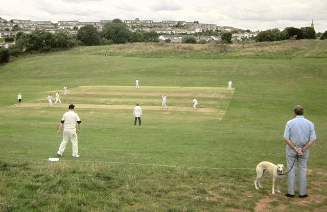 Cricket match, Walls Hill