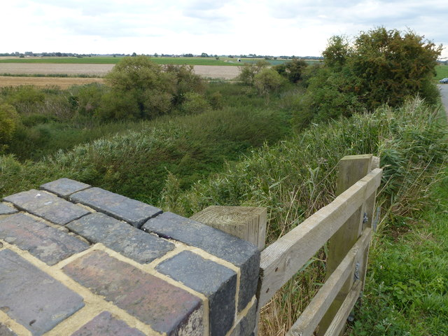 Pit next to Cheal Bridge, Gosberton Cheal