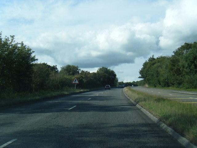 A483 near Bryn-Rhos
