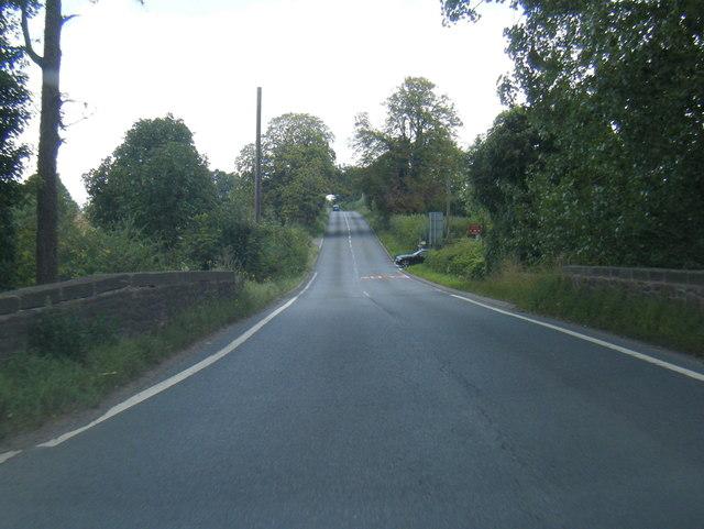A4137 crosses Garren Brook