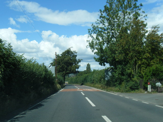 A49 north of Harewood End