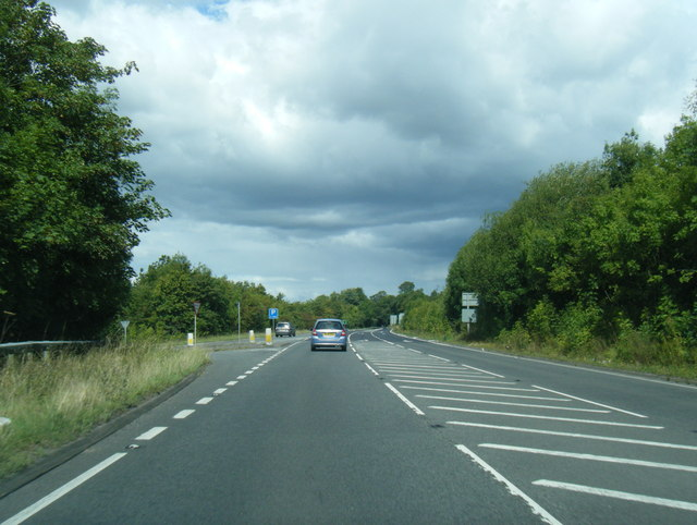 A49/A466 junction