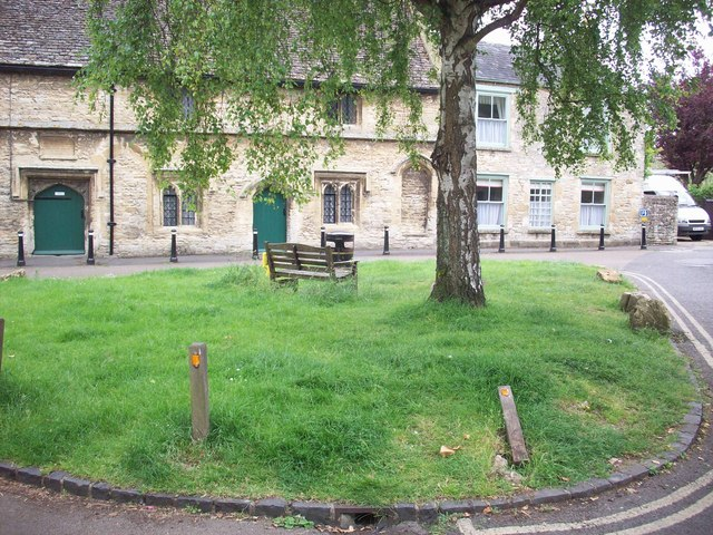 Small square in Burford