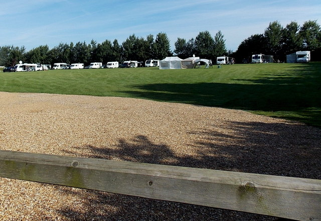 Caravan park near Market Bosworth