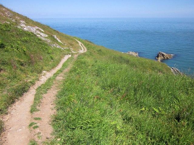 Coast path to Scabbacombe
