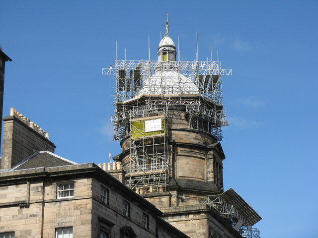 Tower of the Old College at Edinburgh