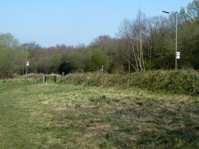 Bridleway Banstead 3 crosses Sutton Lane