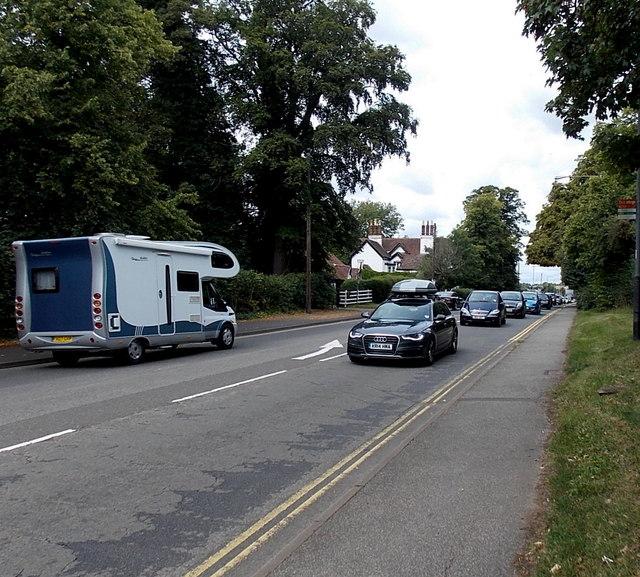 Cars cars cars, Stratford-upon-Avon