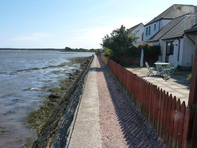 Breakwater footpath