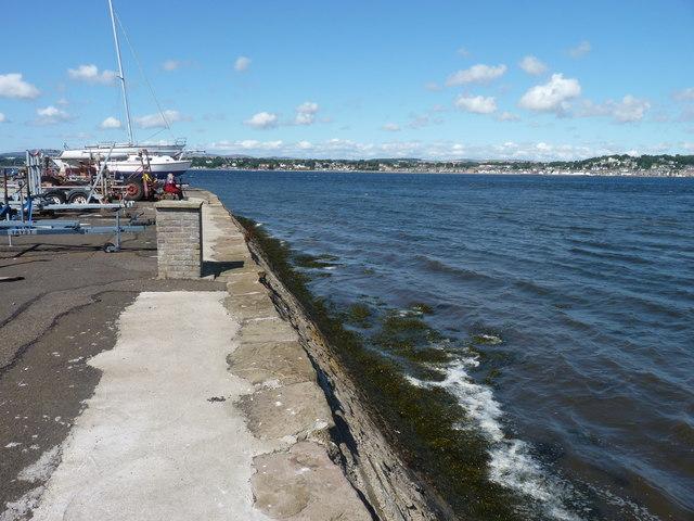 Tayport pier