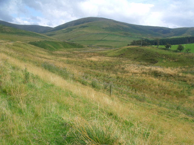 Course of Atton Burn near Yetholm